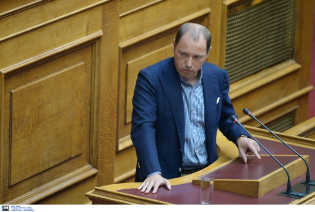 MP Andreas Psycharis resigns following vote in Parliament | tovima.gr