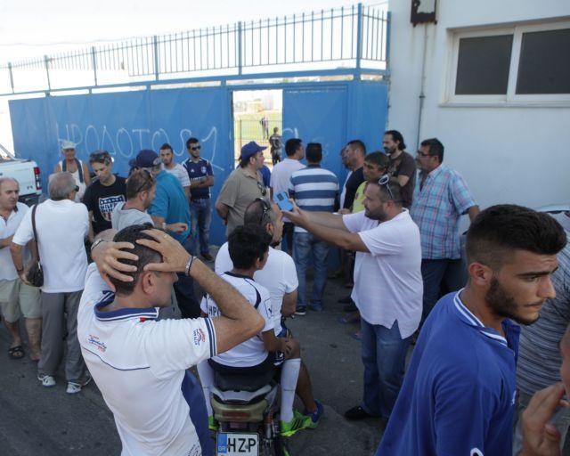 Football fan critically injured during clashes in Nea Alikarnassos   tovima.gr
