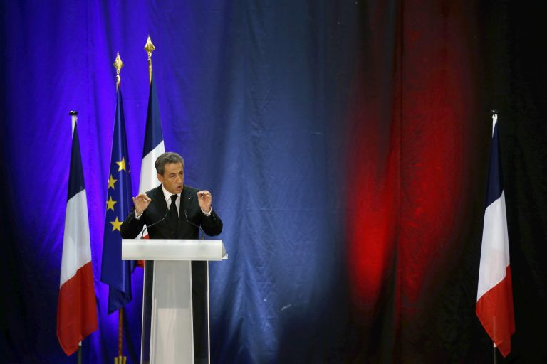 Ο Νικολά Σαρκοζί στα ηνία της γαλλικής κεντροδεξιάς | tovima.gr