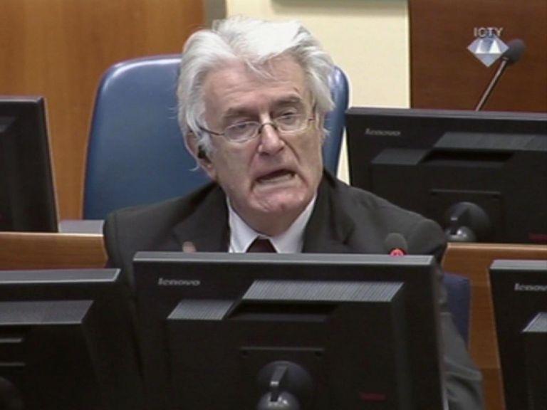 Δικηγόρος Κάρατζιτς: Αγνοούσε τα πάντα για τη σφαγή της Σρεμπρένιτσα | tovima.gr