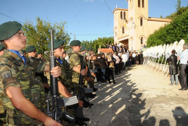 Funerals of soldiers killed on firing range held on Wednesday | tovima.gr
