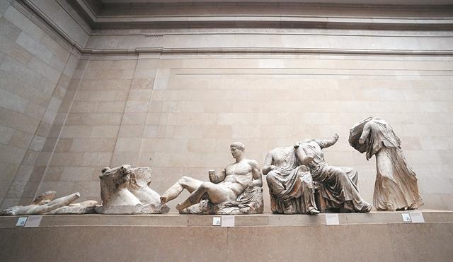 Το Βρετανικό Μουσείο,το «χαμένο» πολιτιστικό του κύρος και η… βροχή στα Γλυπτά του Παρθενώνα   tovima.gr