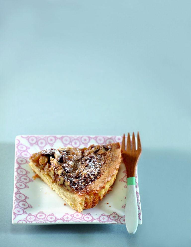 Τάρτα με καρύδια και σιρόπι σφενδάμνου | tovima.gr
