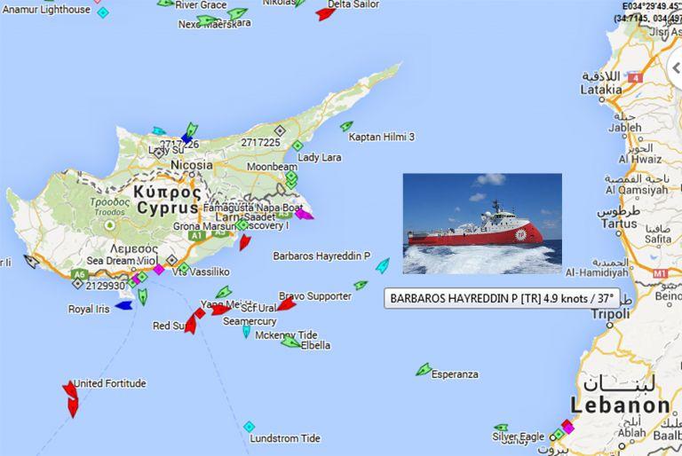 Ankara sends seismographic ship to areas under Cyprus' authority | tovima.gr