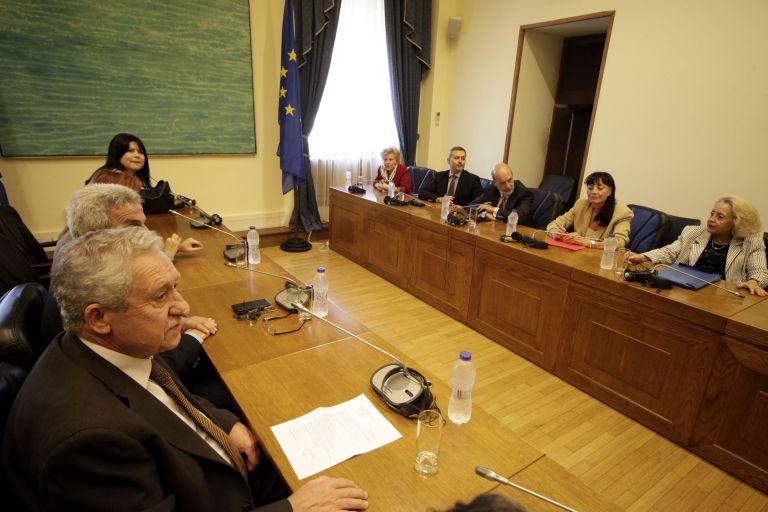 Κουβέλης με τις διοικήσεις Ενώσεων Δικαστών και Εισαγγελέων | tovima.gr