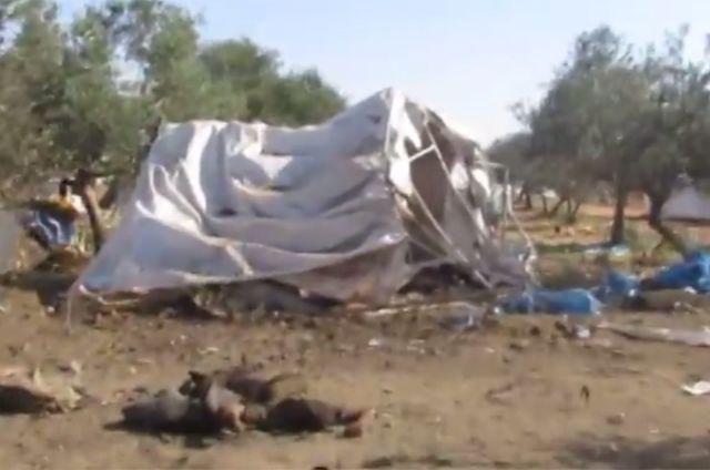 Συρία: Σφαγή προσφύγων με ρίψη αυτοσχέδιων βομβών σε καταυλισμό | tovima.gr