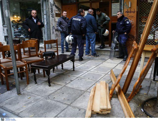 Αστυνομική επέμβαση στο αντιπροσωπείο της Μονής Εσφιγμένου | tovima.gr