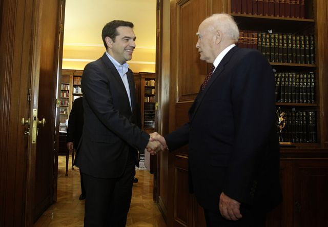 Alexis Tsipras to be sworn in as new Prime Minister at 4pm on Monday | tovima.gr