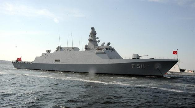 "Turkish corvette ""Buyukada"" exits Greek territorial waters | tovima.gr"