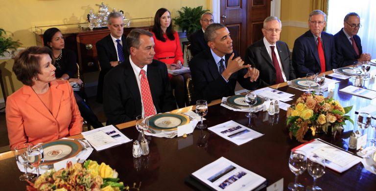 Συνάντηση Ομπάμα-Ρεπουμπλικανών μετά την ήττα στο Κογκρέσο   tovima.gr