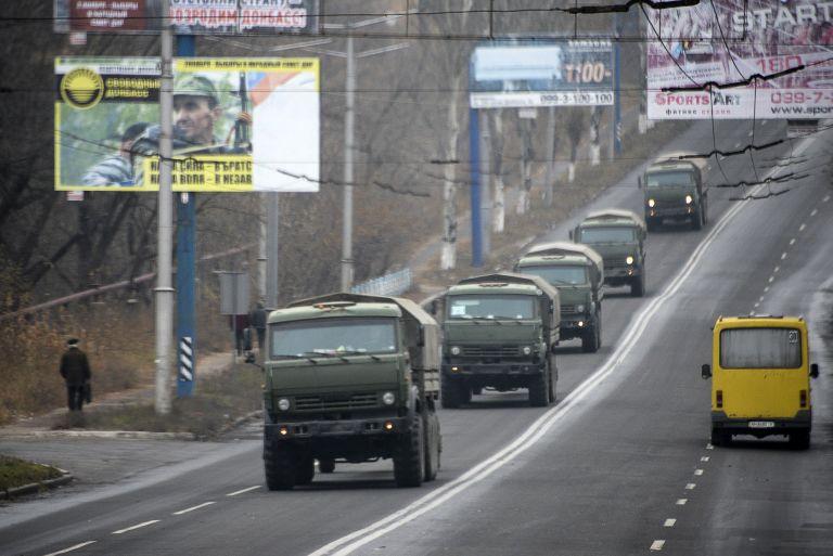 Ουκρανία: Ενισχύσεις με βαρέα όπλα κατευθύνονται προς το Ντόνετσκ | tovima.gr