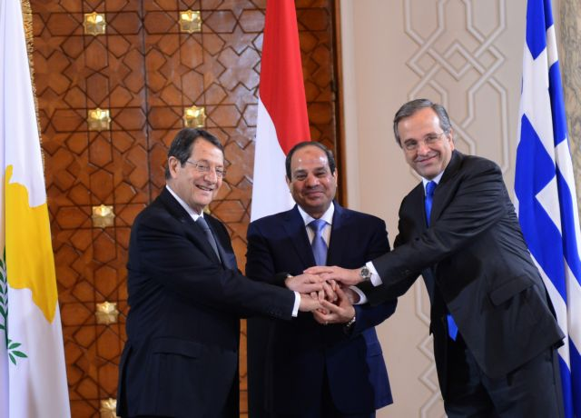 Trilateral summit in Cairo concludes with a joint communiqué | tovima.gr