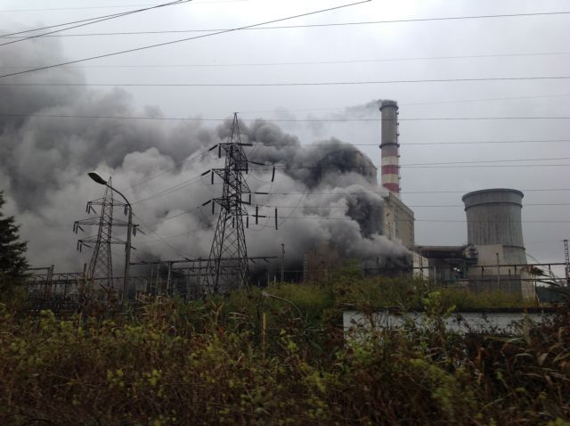 Ptolemaida: Two units destroyed in thermal power plant blaze | tovima.gr