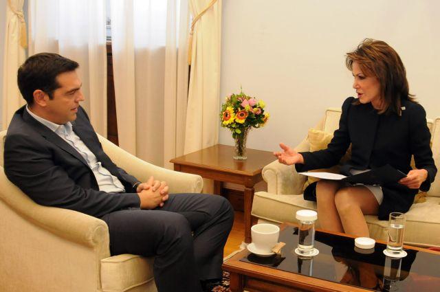 Alexis Tsipras meets with Gianna Angelopoulou-Daskalaki | tovima.gr