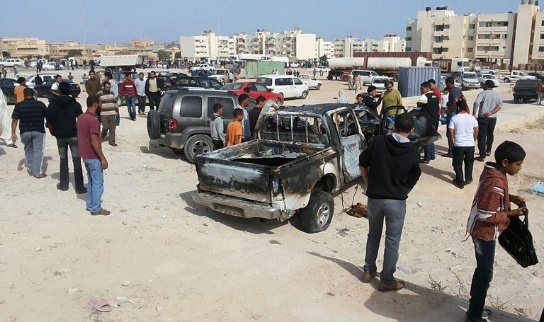 Λιβύη: Εκρηξη έξω από την πρεσβεία των Ηνωμένων Αραβικών Εμιράτων | tovima.gr