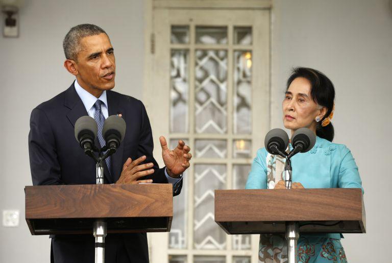 Ομπάμα: Πρέπει να γίνουν ελεύθερες και δίκαιες εκλογές στη Μιανμάρ | tovima.gr
