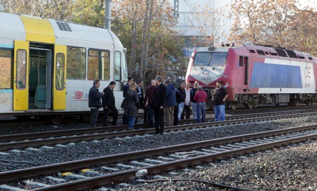 Freight train collides with suburban rail train in Rouf | tovima.gr