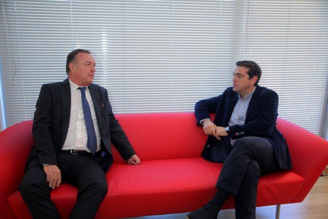 Συνάντηση Αλ. Τσίπρα με τον πρόεδρο του Δικηγορικού Συλλόγου Αθηνών | tovima.gr