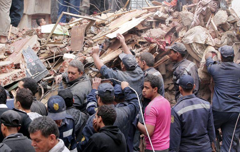 Κάιρο: Κατάρρευση πολυκατοικίας με 18 νεκρούς | tovima.gr