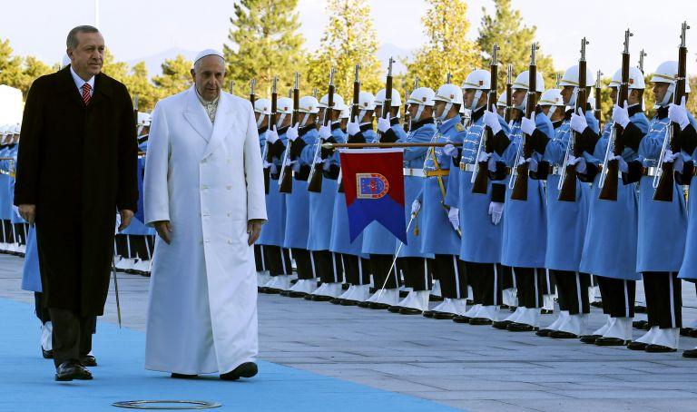Η Ιερουσαλήμ στο επίκεντρο της συνάντησης του Ερντογάν με τον Πάπα | tovima.gr