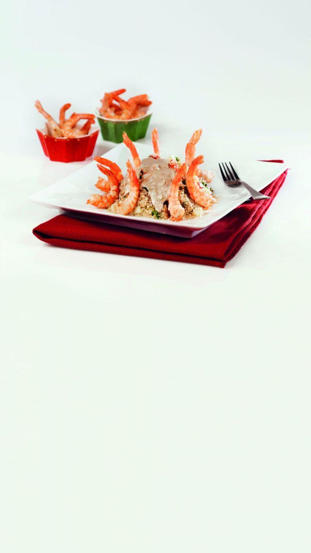 Σαλάτα με κινόα και σάλτσα από ταχίνι | tovima.gr