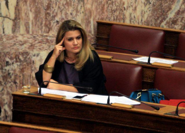 Ανεξαρτητοποιήθηκε η βουλευτής Νίκη Φούντα από τη ΔΗΜΑΡ   tovima.gr