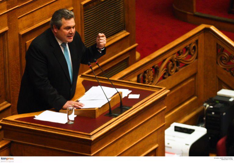 Καμμένος: «Ομολογία ήττας» η επιλογή του Σταύρου Δήμα | tovima.gr