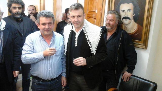 Ο Απόστολος Γκλέτσος παρουσίασε στα Ανώγεια το κόμμα του, την Τελεία | tovima.gr