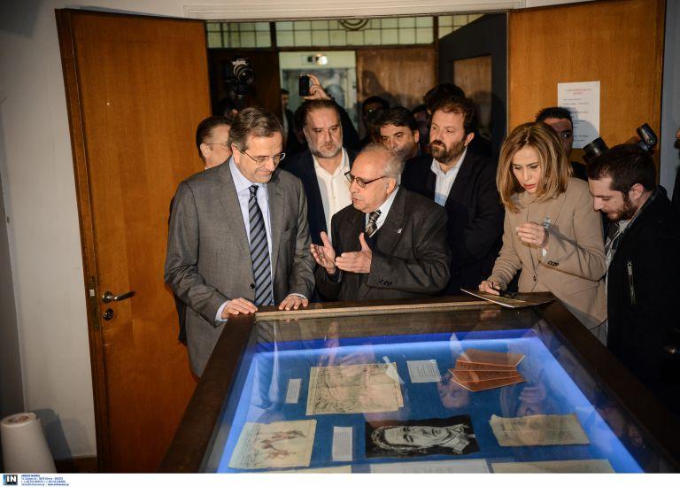 Παρουσία Σαμαρά εγκαινιάστηκε η έκθεση «100 χρόνια ΕΣΗΕΑ» | tovima.gr
