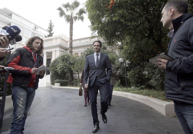 Κ. Μητσοτάκης: Αν ψηφίσει η Χρυσή Αυγή «Δήμα», θα ψηφίσω «παρών» | tovima.gr