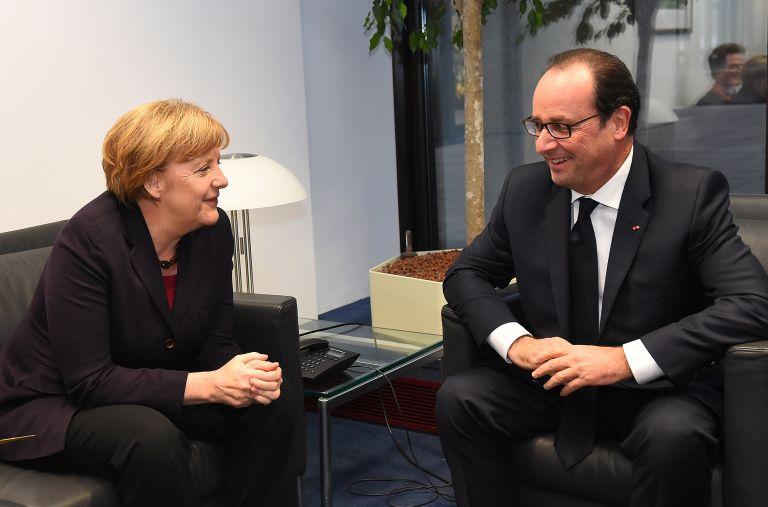 Αναβάλλεται η συνάντηση Ολάντ – Μέρκελ στο Παρίσι   tovima.gr