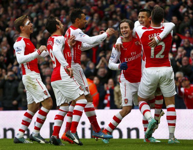 Premier League: κουνάει ξανά… σεντόνι η Άρσεναλ με νίκη επί της Στόουκ | tovima.gr
