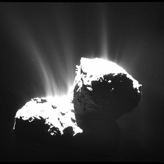Γιατί οι κομήτες μοιάζουν με «τηγανητό παγωτό» | tovima.gr