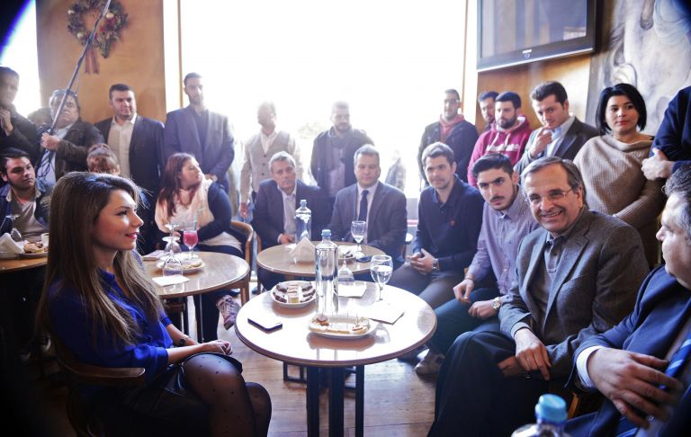 Σαμαράς: Ενέσεις ηθικού στην κομματική βάση, επένδυση στη «χαμένη ψήφο» | tovima.gr