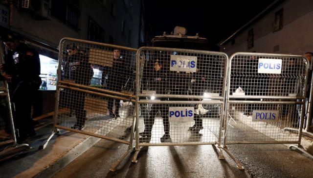 Δρακόντεια μέτρα ασφαλείας στα γραφεία της τουρκικής Τζουμχουριέτ   tovima.gr