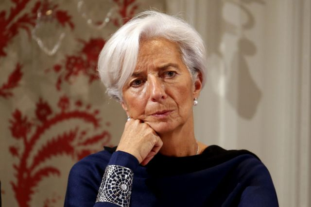 Lagarde stresses the need to resume talks with the Greek authorities | tovima.gr