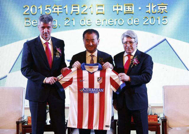 Γουάνγκ Ζιανλίν: Σε κινέζο μεγιστάνα το 20% της Ατλέτικο Μαδρίτης | tovima.gr