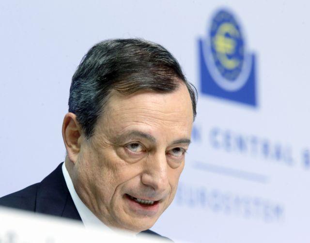 Draghi to pressure SYRIZA into troika agreement via QE program | tovima.gr