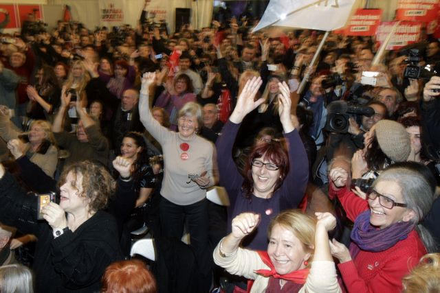 """SYRIZA: """"A historic victory for the Greek people"""" 