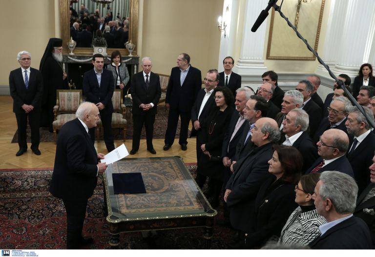 Η τάξη των υπουργείων της κυβέρνησης Τσίπρα | tovima.gr