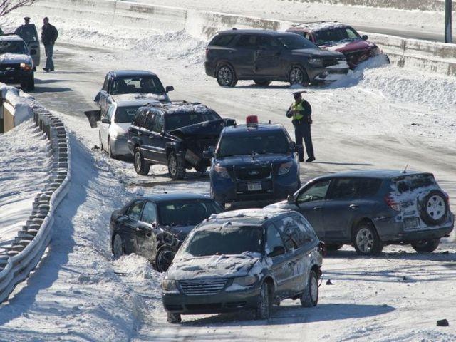 ΗΠΑ: Επτά νεκροί από τη σφοδρή χιονοθύελλα | tovima.gr