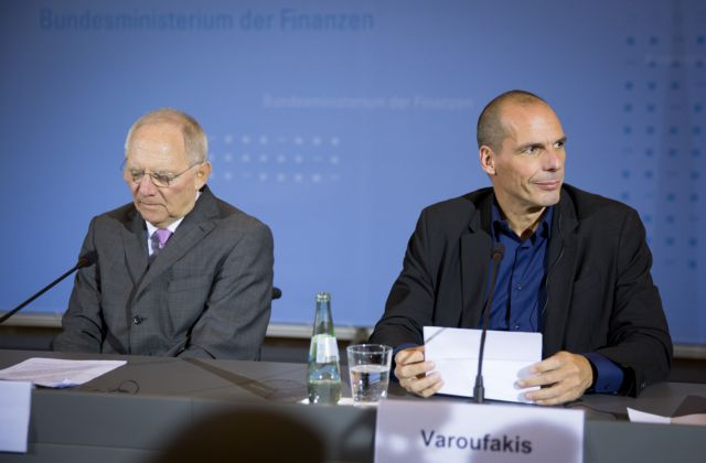 """Varoufakis and Schäuble """"unable to agree to disagree"""" 