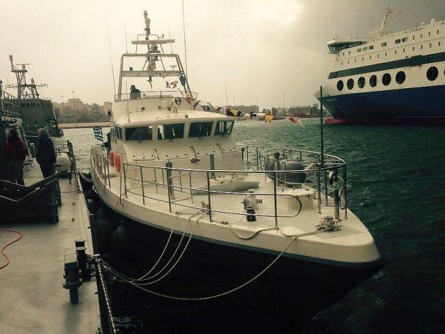 Παραλαβή νέου σκάφους από το Λιμενικό | tovima.gr