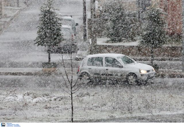 Στα λευκά η Βόρεια Ελλάδα – Κλειστά σχολεία σε Λαγκαδά και Χαλκιδική | tovima.gr