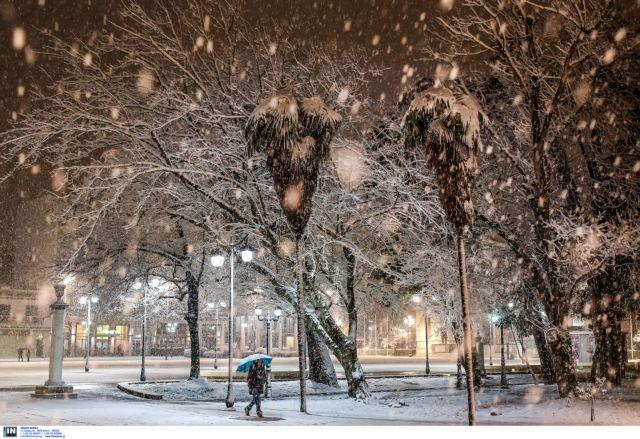 Τσουχτερό κρύο και χιόνια την Πρωτοχρονιά | tovima.gr