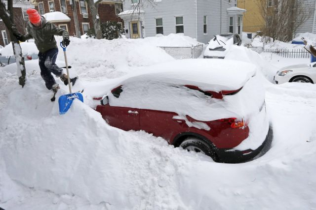 Ο χιονιάς πάγωσε την αμερικανική οικονομία | tovima.gr