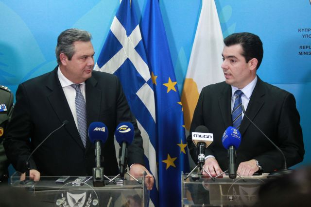 Kammenos announces military exercises with Cyprus, Israel and Egypt | tovima.gr