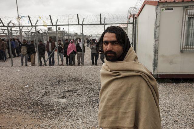 Tension at controversial Amygdaleza migrant detention center | tovima.gr