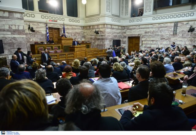 Tsipras discusses government achievements at SYRIZA PG session | tovima.gr