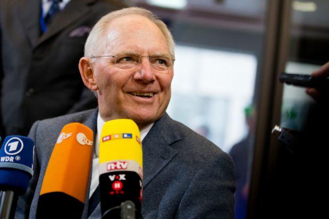 Αισιόδοξος ο Σόιμπλε για συμφωνία με την Ελλάδα | tovima.gr